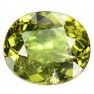 3.14 Ct. Wonderful Luster Natural Demantoid Garnet Loose Gemstone With GLC Certify