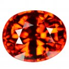 4.15 Ct. Exceptional Hot Orange Mandarin Garnet Loose Gemstone With GLC Certify