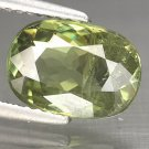2.77 Ct. Superb Luster Natural Russian Demantoid Garnet Loose Gemstone With GLC Certify