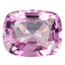 3.08 Ct Natural Intense Pink Vvs Tanzania Spinel Cushion Loose Gemstone With GLC Certify