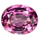 3.07 Ct. Ultra Rare Intense Pink Tanzania Spinel Loose Gemstone With GLC Certify