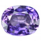 2.21 Ct. Exquisite Natural Purple Sapphire Top Luster Loose Gemstone With GLC Certify