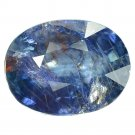 5.79 Ct. Natural Unheated Blue Sapphire Tanzania Loose Gemstone With GLC Certify