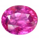 1.04 Ct. Unheated Lustrous Red Natural Ruby Loose Gemstone With GLC Certify