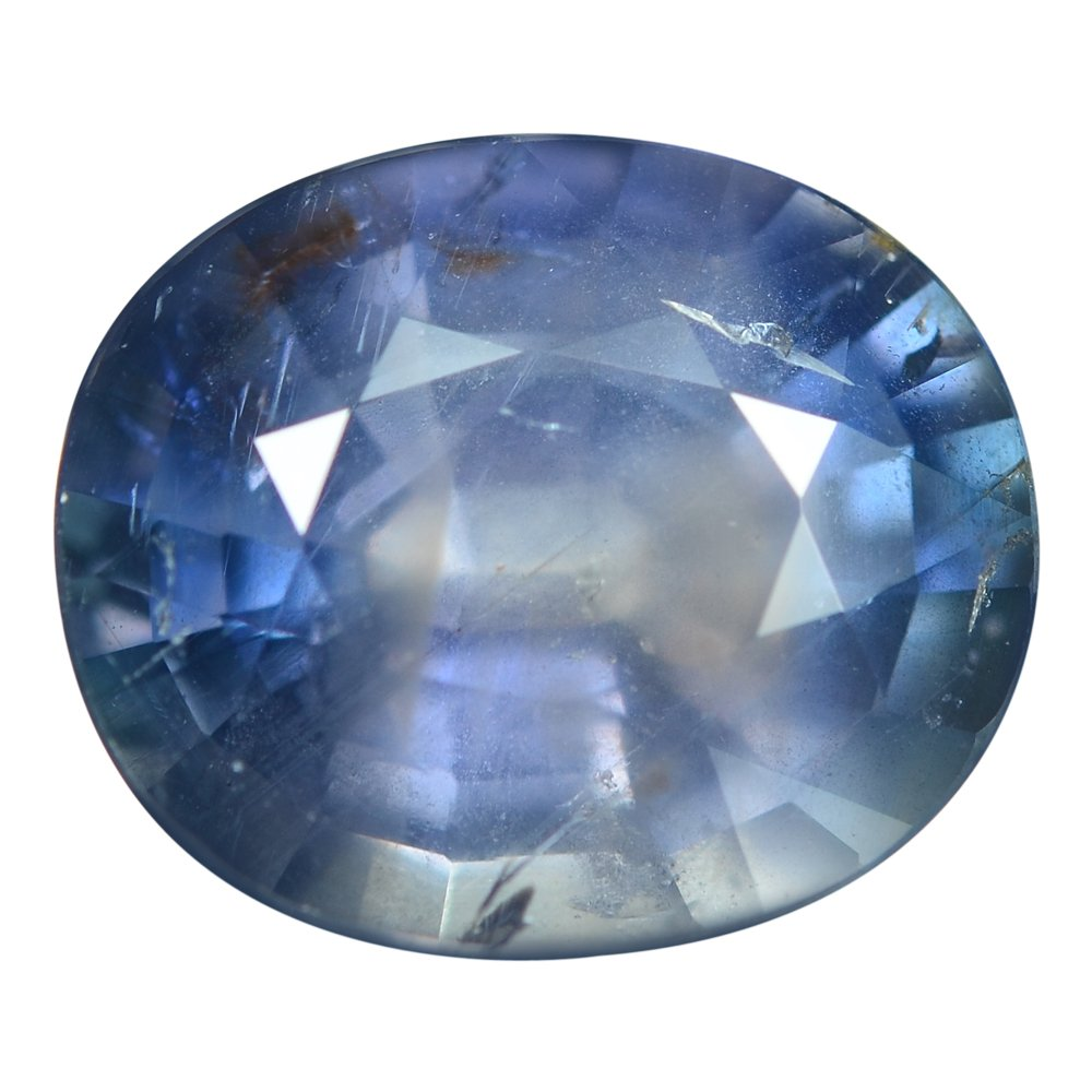 7.14 Ct. Rare Unheated Top Natural Blue Sapphire Loose Gemstone With GLC Certify