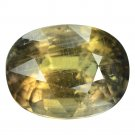 12.29 Ct. Beautiful Unheated Green Sapphire Natural Loose Gemstone With GLC Certify