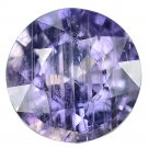 3.56 Ct. Natural Unheated Purple Sapphire Tanzania Loose Gemstone With GLC Certify