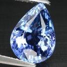3.02 Ct. Natural Intense Royal Blue Tanzanite AAA Loose Gemstone With GLC Certify