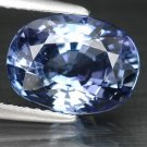 3.33 Ct. Natural Top Kashmir Blue D-block Tanzanite Loose Gemstone With GLC Certify