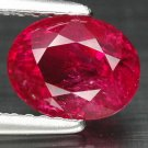 2.04 Ct. Fabulous Red Unheated Ruby Loose Gemstone With GLC Certify