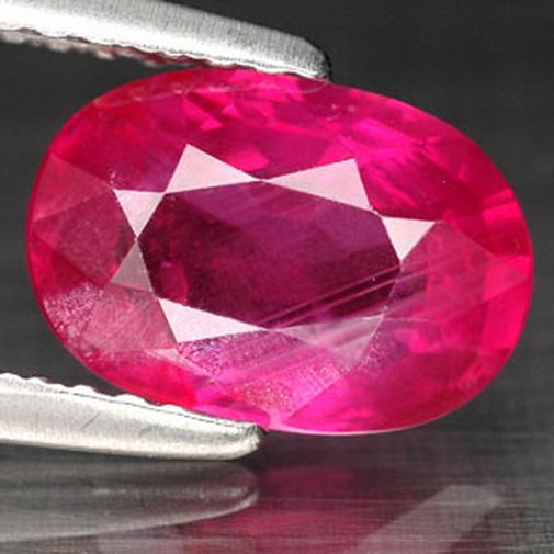 2.09 Ct. Hot Red Unheated Ruby Natural Loose Gemstone With GLC Certify