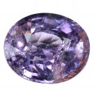 3.72 Ct. Rare Unheated Top Natural Purple Sapphire Loose Gemstone With GLC Certify