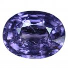 3.28 Ct. Elegant Natural Top Purple Unheated Sapphire Loose Gemstone With GLC Certify