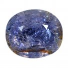 5.6 Ct. Unheated Blue Tanzania Sapphire Loose Gemstone With GLC Certify