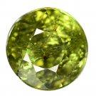 2.17 Ct. Wonderful Luster Top Color Demantoid Garnet Loose Gemstone With GLC Certify