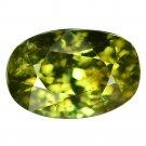 2.09 Ct. Rare Stunning Luster Green Demantoid Garnet Loose Gemstone With GLC Certify