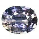 8.1 Ct. Vivid Purple Unheated Sapphire Cutting Loose Gemstone With GLC Certify