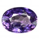 3.79 Ct. Unheated Natural Purple Sapphire Loose Gemstone With GLC Certify
