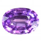 2.9 Ct. Unheated Purple Tanzania Natural Sapphire Loose Gemstone With GLC Certify