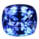 3.57 Ct. Vivid Color Natural Blue Tanzanite Loose Gemstone With GLC Certify