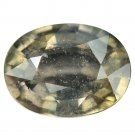 4.42 Ct. Beautiful Unheated Green Sapphire Natural Loose Gemstone With GLC Certify
