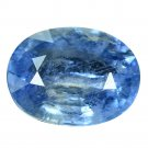 3.06 Ct. Lovely Oval Blue Color Unheated Sapphire Loose Gemstone With GLC Certify