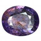 3 Ct. Unheated Purple Tanzania Natural Sapphire Loose Gemstone With GLC Certify