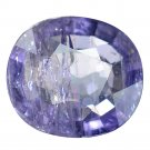 3.27 Ct. Significant Unheated Natural Blue Sapphire Loose Gemstone With GLC Certify