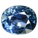 2.55 Ct. Natural Unheated Blue Sapphire Tanzania Loose Gemstone With GLC Certify
