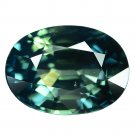 2.23 Ct. Museum Gem Unheated Green Sapphire Loose Gemstone With GLC Certify
