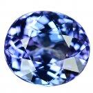 3.26 Ct. Unheated Terrific VVS D-block Natural Tanzanite Loose Gemstone With GLC Certify
