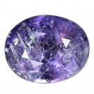 3.27 Ct. Gemstone Intense Purple Unheated Sapphire Pear Shape Loose Gemstone With GLC Certify