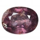 3.7 Ct. Unheated Natural Dark Purple Color Sapphire Loose Gemstone With GLC Certify