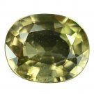 2.26 Ct. Natural Beautiful Green Sapphire Loose Gemstone With GLC Certify