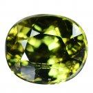 2.655 Ct. Rare Stunning Luster Green Demantoid Garnet Loose Gemstone With GLC Certify