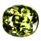2.05 Ct. Ultra Rare Natural Green Demantoid Garnet Loose Gemstone With GLC Certify