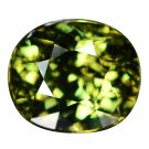 2.48 Ct. Loupe Clean Natural Demantoid Garnet Loose Gemstone With GLC Certify