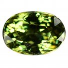 1.23 Ct. Majestic Luster Demantoid Garnet Loose Gemstone With GLC Certify