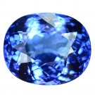 5.6 Ct. Natural Tanzanite Oval AAA Color Top Luster Loose Gemstone With GLC Certify
