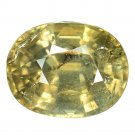 3.03 Ct. Significant Unheated Natural Green Sapphire Loose Gemstone With GLC Certify