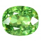 1.64 Ct. Stunning Luster Green Madagascar Demantoid Garnet Loose Gemstone With GLC Certify