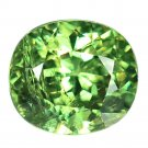1.04 Ct. Superb Luster Best Green Demantoid Garnet Loose Gemstone With GLC Certify