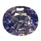 7.28 Ct. Lovely Oval Blue Color Unheated Sapphire Loose Gemstone With GLC Certify