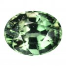 4.92 Ct. Natural Oval Cut Green Tourmaline Loose Gemstone With GLC Certify