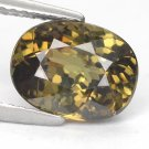 3.23 Ct. Vivid Color Natural Demantoid Garnet Loose Gemstone With GLC Certify