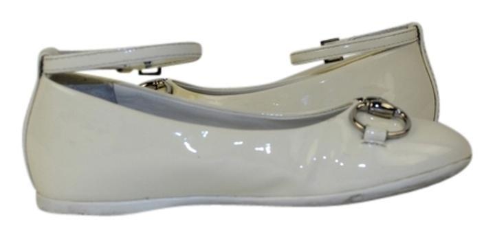 Gucci 258021 Children's Ankle Strap Ballerina Lbslm63 Flats