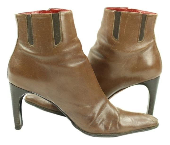 Donald J. Pliner J. Brown High Heel Lbslm58 Boots