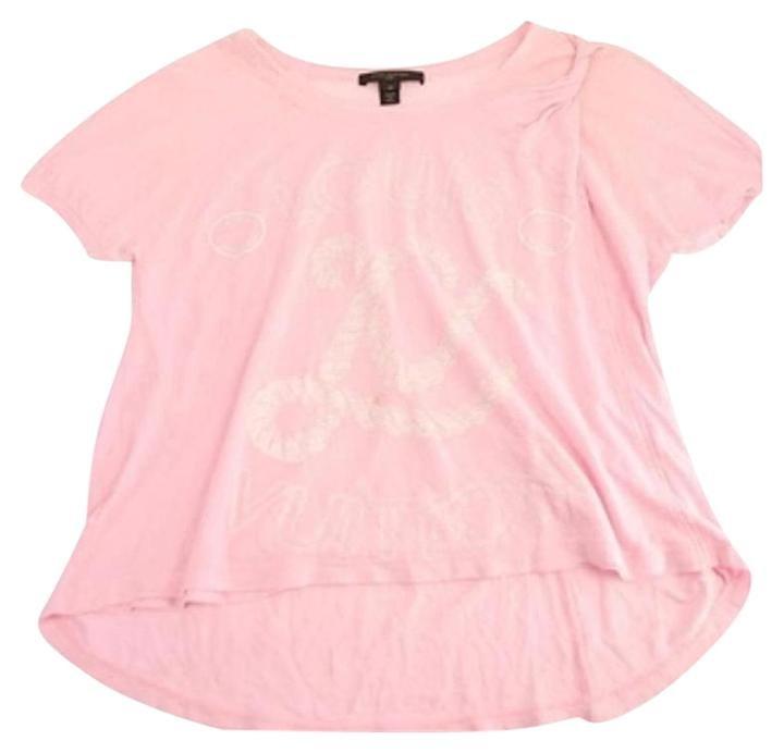 Louis Vuitton Pink Rope Logo 32lva1020 T Shirt