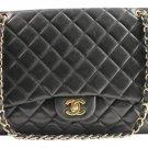 Chanel Lambskin Maxi Classic Double Flap 12cca1020 Shoulder Bag
