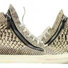 Giuseppe Zanotti Gztl01 Men's Snake Leather Athletic Shoes